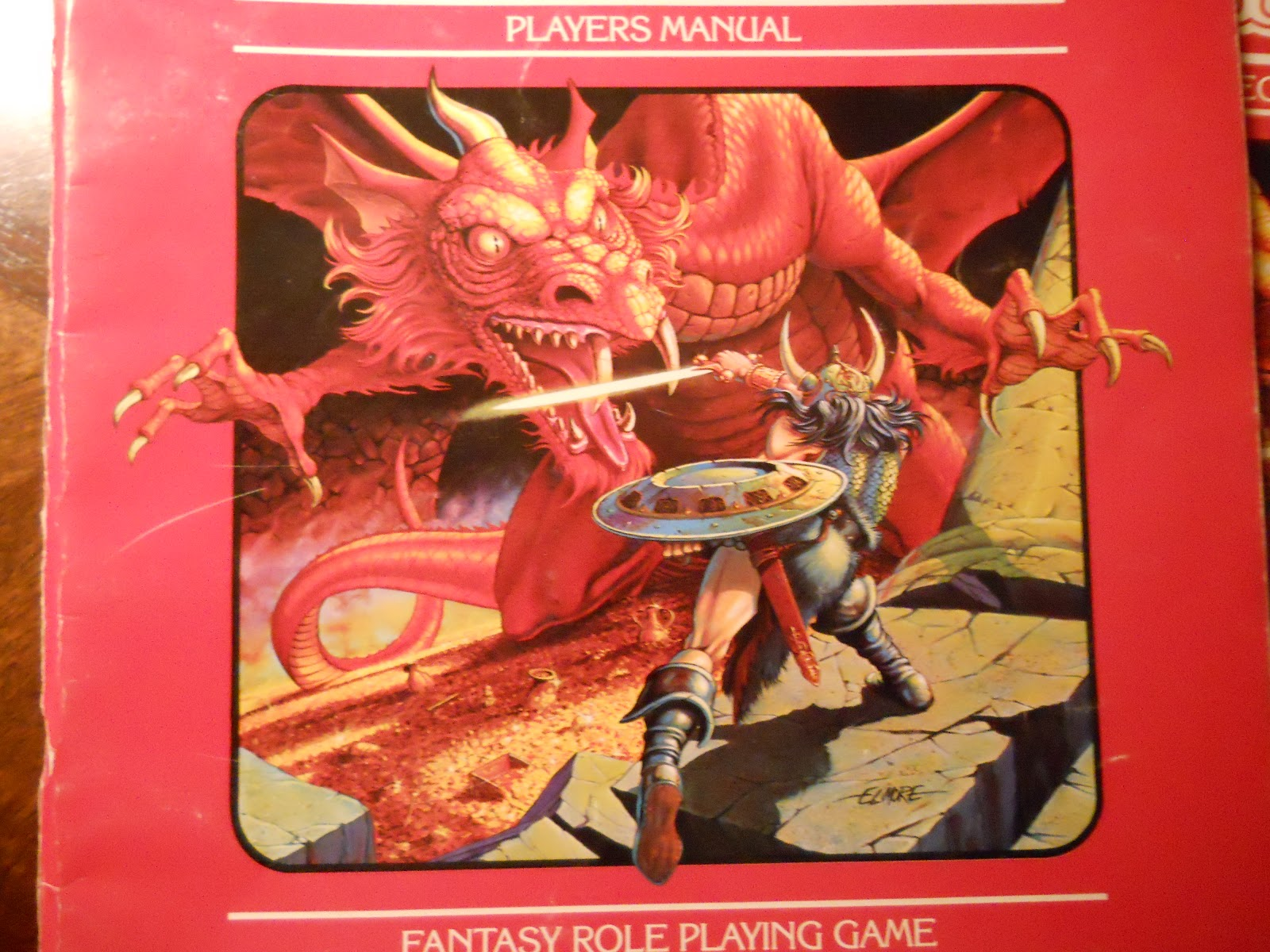 memories of toymorrow  tsr dungeons and dragons red box basic rules set    where it all began