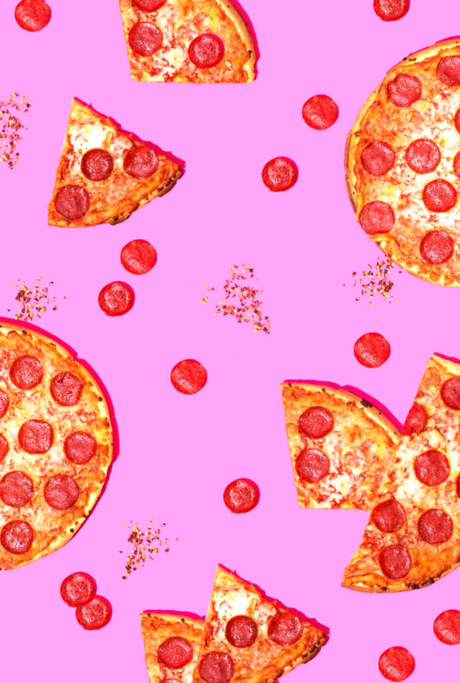 Pizza Party Wallpaper Download — Violet Tinder Studios