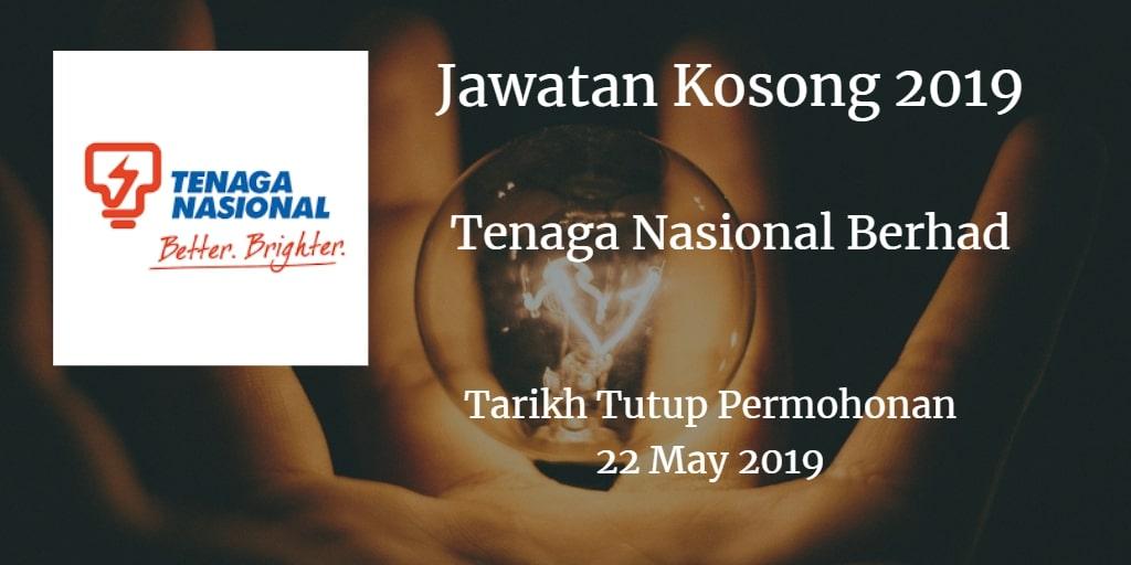 Jawatan Kosong TNB  22 May 2019