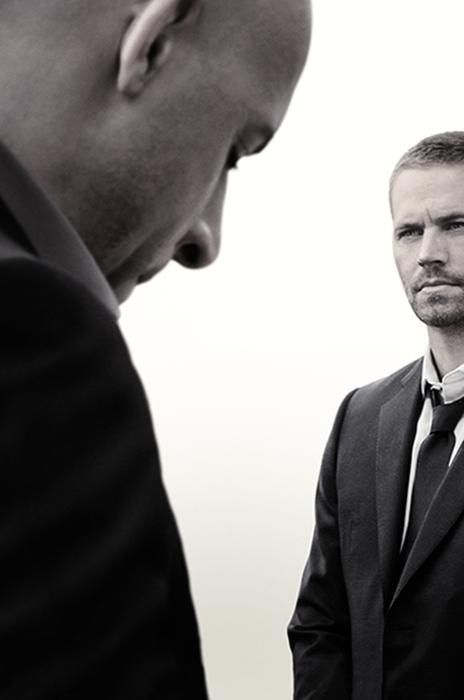 Regretatul Paul Walker şi Vin Diesel în Furious 7