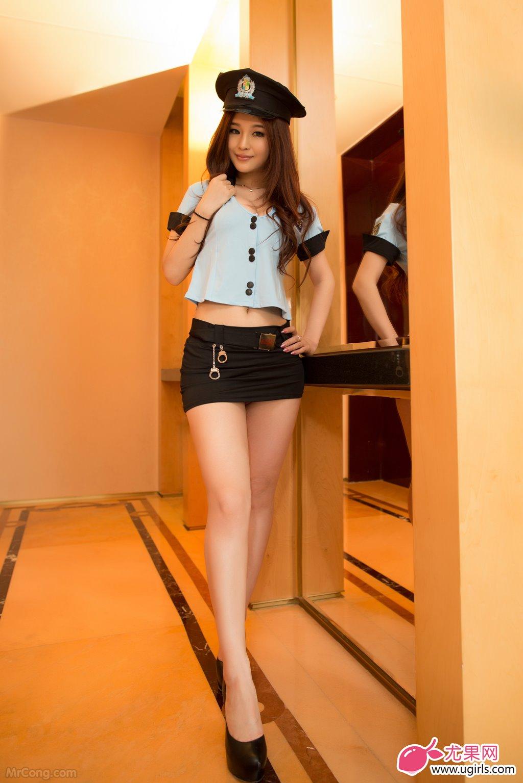 Image MrCong.com-UGIRLS-015-Chun-Xiao-Xi-001 in post Người đẹp Chun Xiao Xi (纯小希) siêu nóng bỏng trong bộ ảnh UGIRLS 015