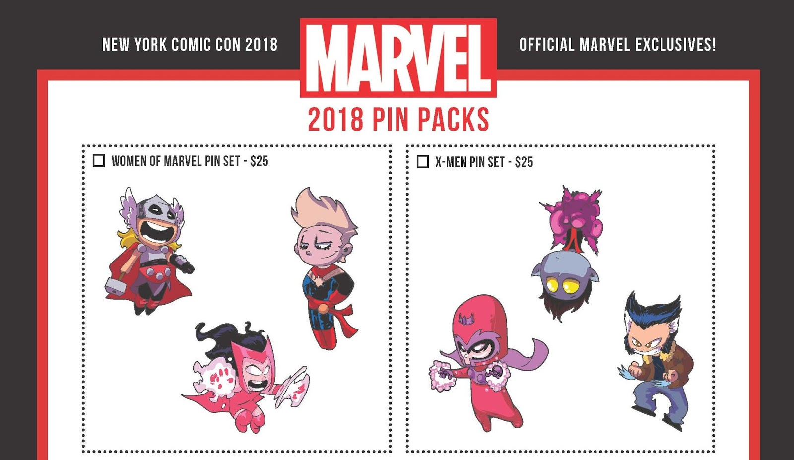 The Blot Says   : NYCC 2018 Exclusive Skottie Young Marvel