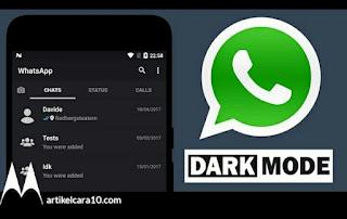 WhatsApp Mode Gelap?