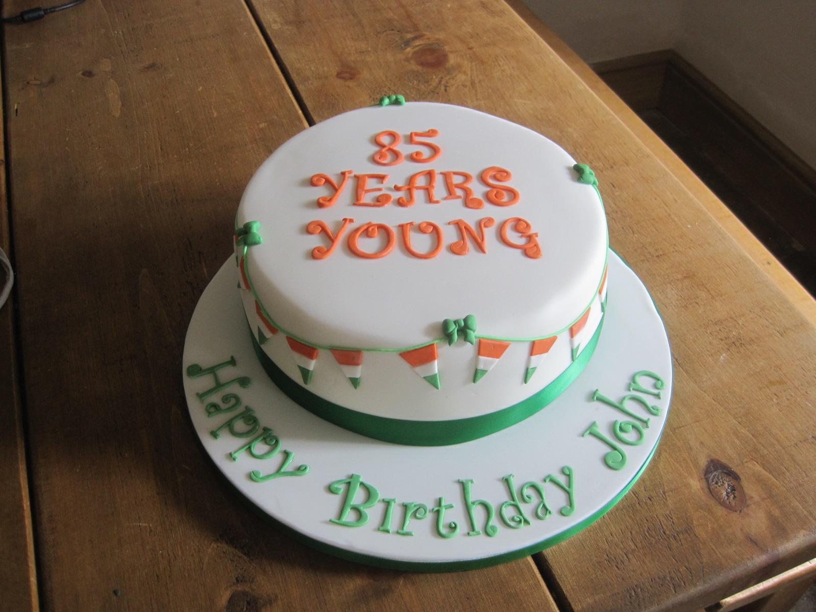 Cake Crush Irish Themed Birthday Cake