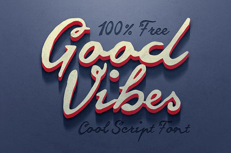 Good Vibes Font