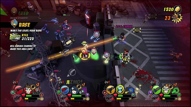 All Zombies Must Die PC Game Free Download Screenshot 1