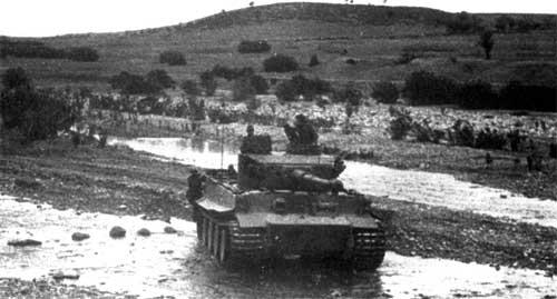 Немецкий Тяжёлый танк PzKpfw VI Tiger I