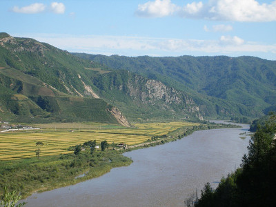 Perbatasan Rusia – China – Korea Utara (Tumen River)