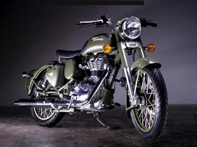 Royal Enfield Classic 350 side angle image