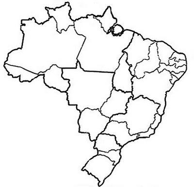 mapas do brasil para imprimir e colorir mundinho da criança