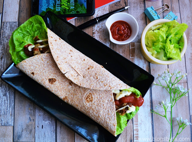 Lamb Shami Kebab Wrap Recipe