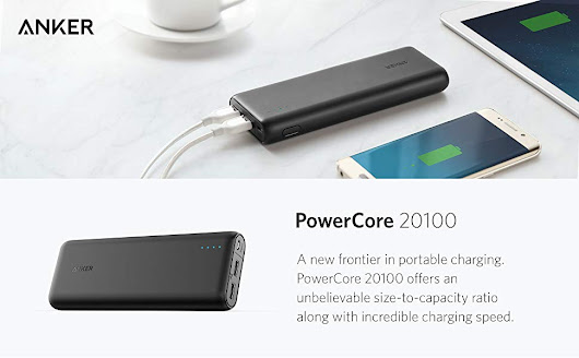 Anker PowerCore 20100 - Ultra High Capacity Power Bank, anker powercore 20100 review