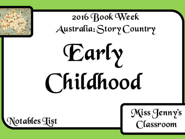Book Week 2016: Notables List: Early Childhood