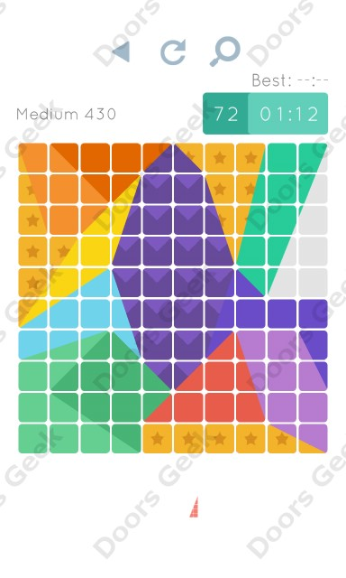 Cheats, Walkthrough for Blocks and Shapes Medium Level 430