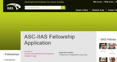 ASC-IIAS Fellowship Application 2018, Netherland