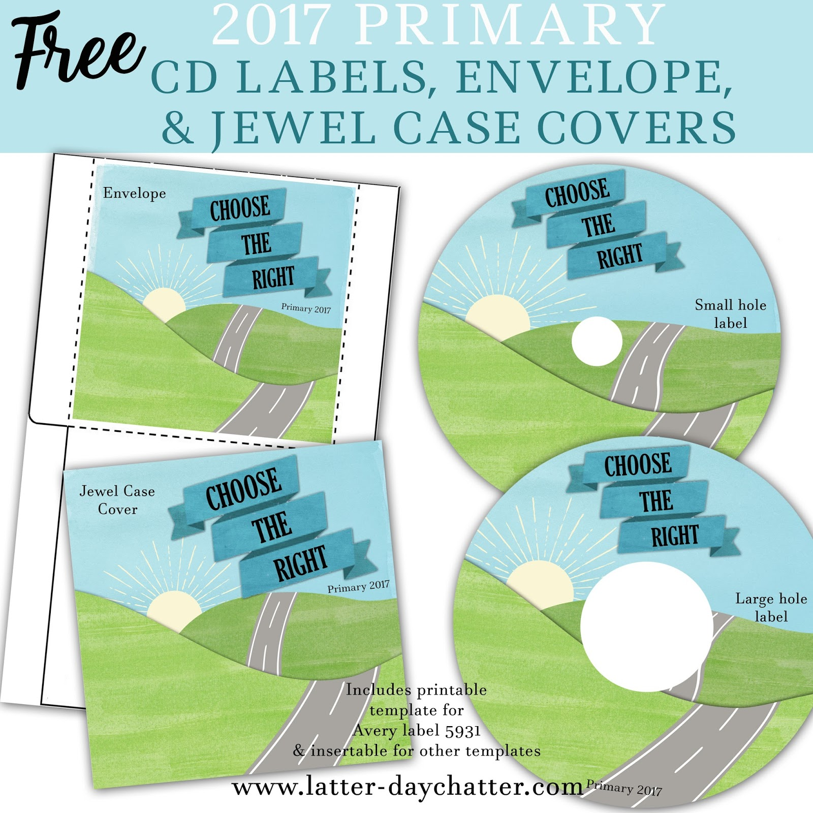label 5931 template download