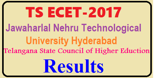 TS ECET results 2017 to be declared today The TS ECET results 2017 The TS ECET results 2017 will be declared today. The Jawaharlal Nehru Technical University Hyderabad (JNTUH) has announced that the results for the Telangana Engineering Common Entrance Test (TS ECET) will be declared today. Candidates can check their results from the official website and this page for updates.The examination was conducted for Diploma holders and for BSc (Mathematics) degree holders for admission to Bachelor of Education (BE), Bachelor of Technology (BTech) and Bachelor of Pharmacy (BPharm) courses in the state from the academic term of 2017-18. The TS ECET results 2017 will be available on the official website, ecet.tsche.ac.in./2017/05/ts-ecet-results-2017-to-be-declared-tsche.ac.in.html