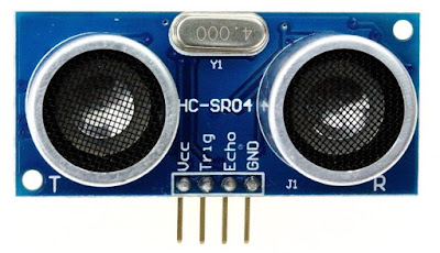 HC-SR04 Ultrasonic sensor pinout
