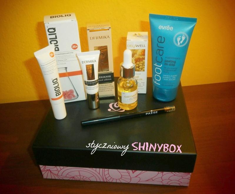 Shinybox - pierwszy raz na blogu!