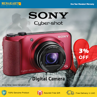 Cyber-shot Digital Camera - DSC-HX10V - Red Online