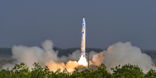 china s first private rocket reaches 127 000 feet on maiden flight