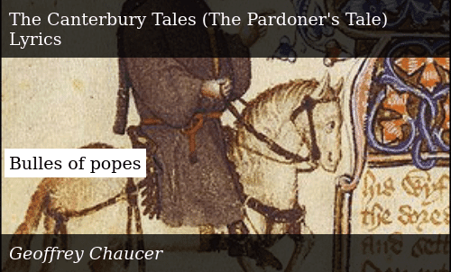 A Message from the Pardoner About Synneflix
