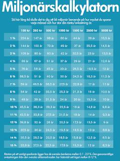 hur mycket sparar ni varje månad