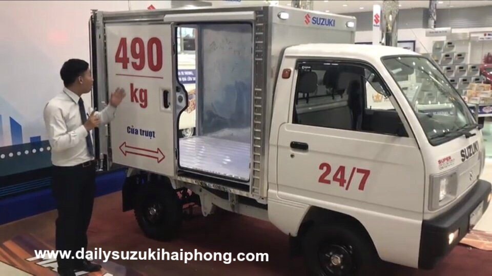 xe tai suzuki 490kg hai phong