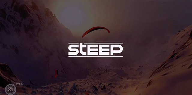 Steep logo Ubisoft alps skiing snowboarding paragliding glidewings E3 2016