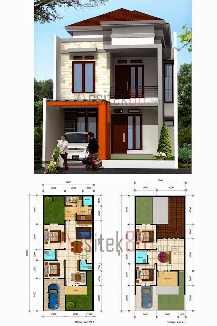 Rumah Minimalis 7 X 10 Omah Jati