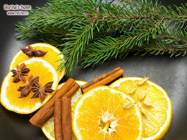 Новогодние ароматы для дома