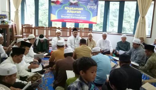 Ratusan Warga Brunei Khusyuk Ikuti Nusantara Mengaji