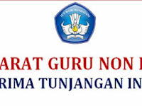 Insentif Pusat Guru Non PNS - Syarat dan Penjelasan