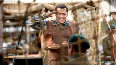 Salman Khan Salute Pic In Tublight Bollywood Film