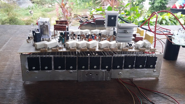 diy high power amplifier circuit