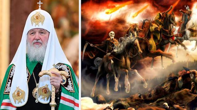 O apocalipse irá começar? Igreja ortodoxa russa diz que a batalha do Armagedom é iminente
