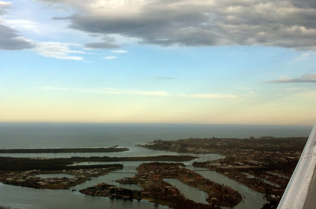 Port Macquarie from Air with JETGO Australia