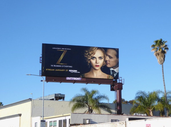 Z Beginning of Everything Amazon billboard