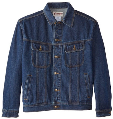 81f5b7247 Today, 2/23/16 only. as part of a Gold Box Deal, Amazon has got this  Wrangler denim jacket for $25.80 - $27.98 with free Prime/SuperSaver  shipping and free ...