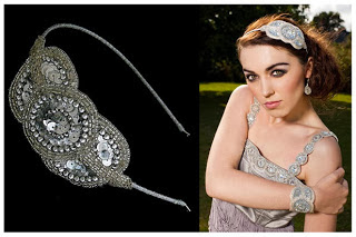 Art Deco Inspired Headband