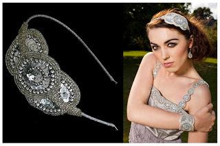 Art Deco Inspired Headband