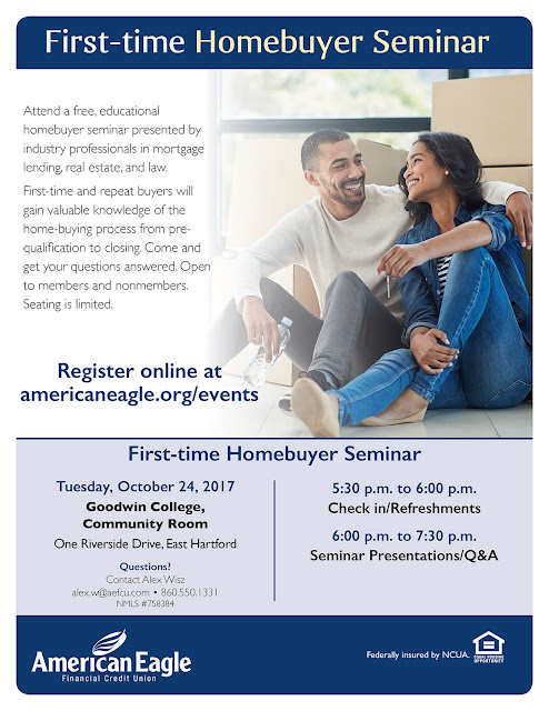 First Time Homebuyer Seminar October 24, 2017