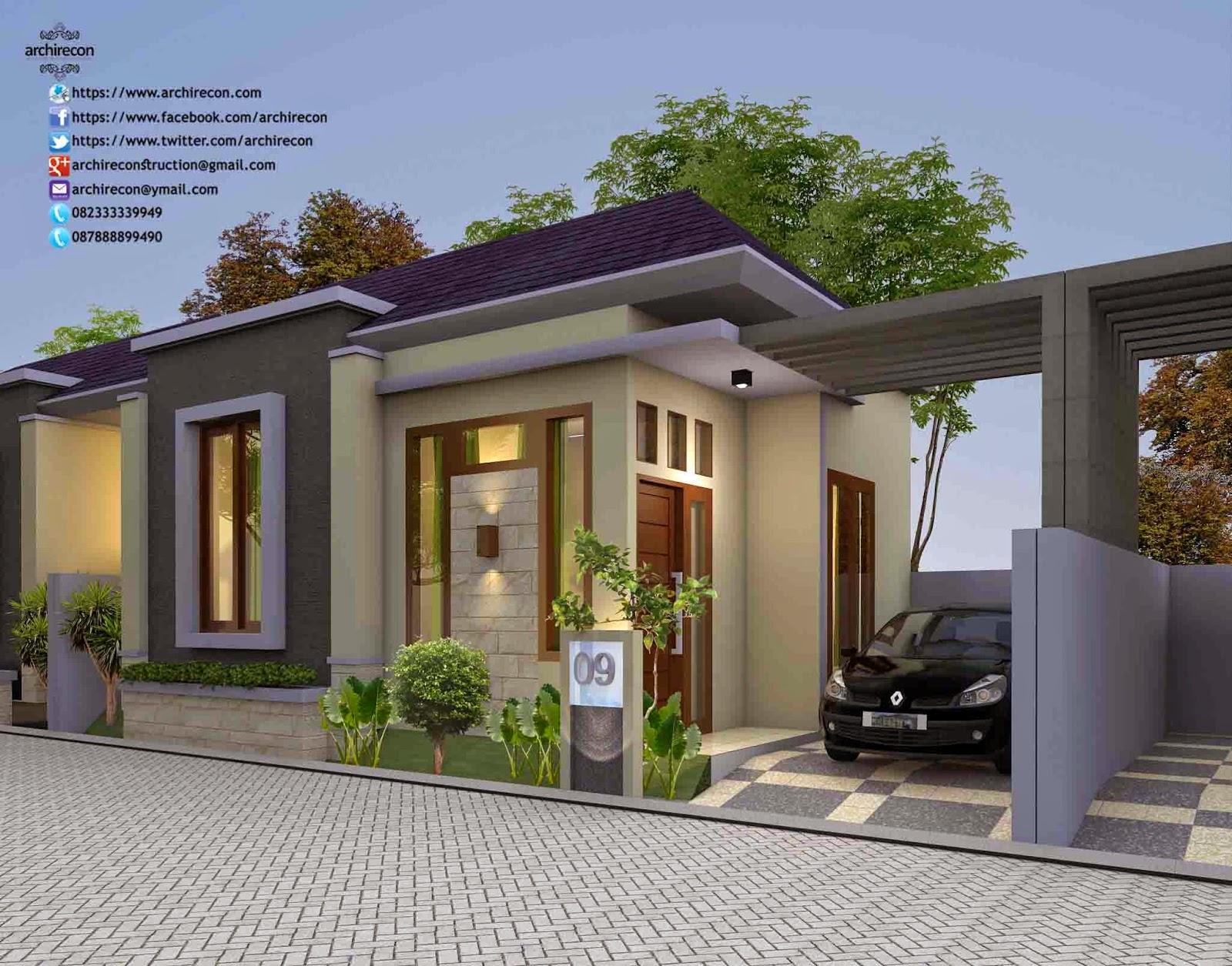 Rumah Minimalis Surabaya View Type 45