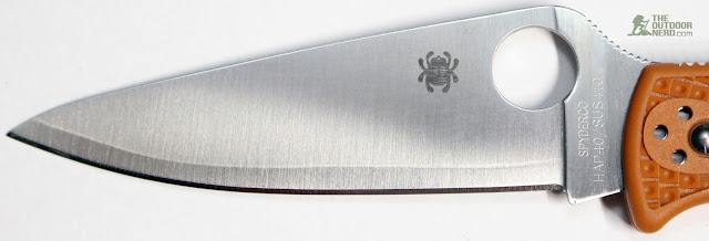 Spyderco HAP40 Endura - Blade View 2