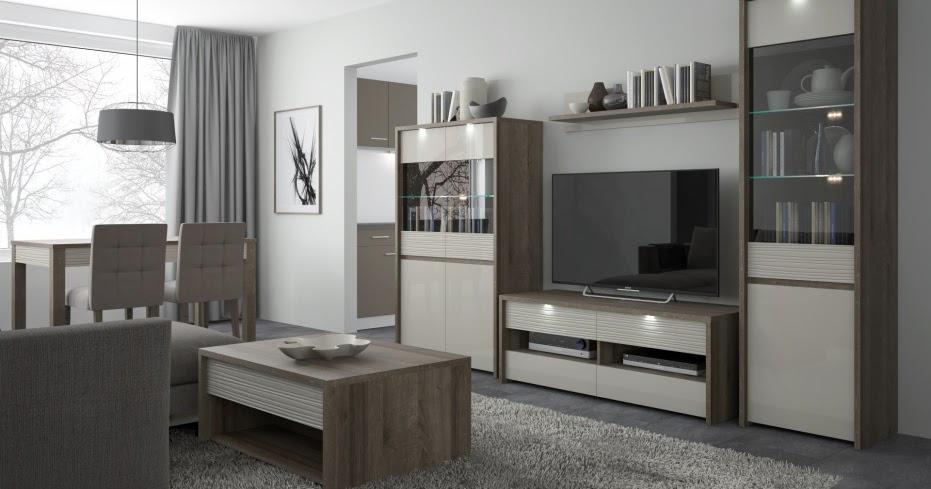 Oficjalny blog Twojemeble.pl: Pomysł na nowoczesny salon z meblami Aspen firmy Meble Wójcik
