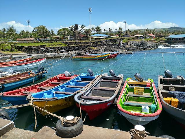 Puerto de Hanga Roa, Isla de Pascua