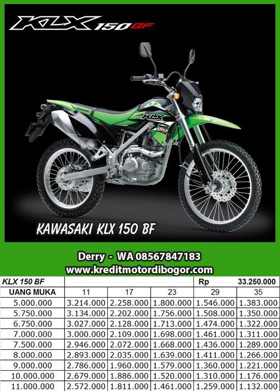 Kredit Motor Kawasaki KLX 150 BF di Bogor