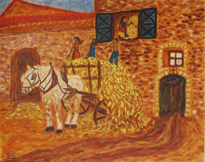 Испанский художник-самоучка