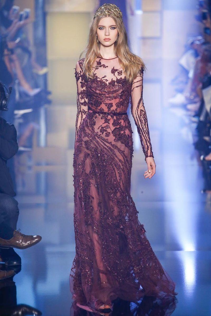 9679c57b9 Elie Saab se inspira en princesas de Game of Thrones para su colección de  otoño invierno. La colección de alta costura ...