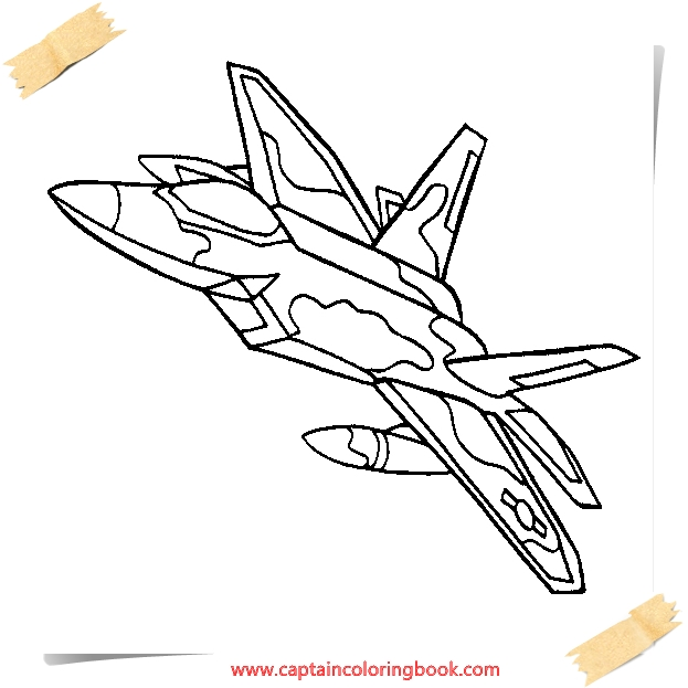 Air Force coloring pages free printable - Coloring Page